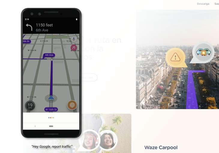AsistenteGoogle-Waze