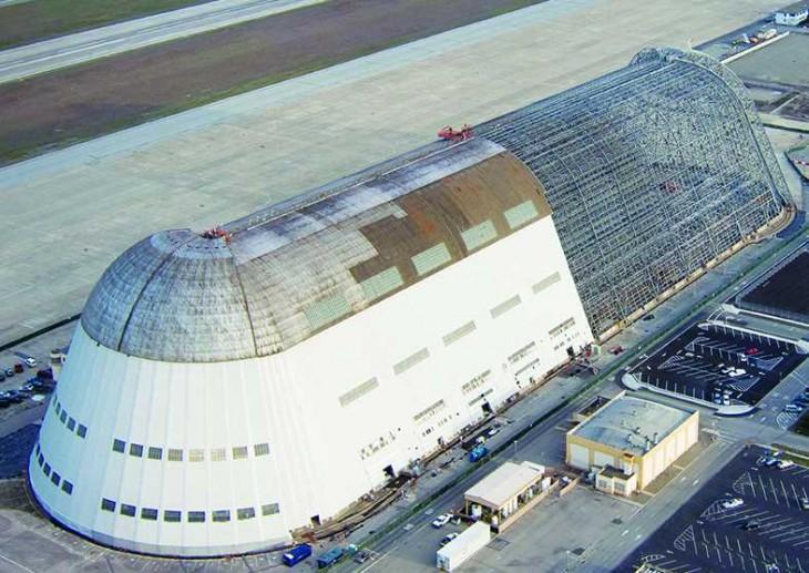 Hangar de la NASA