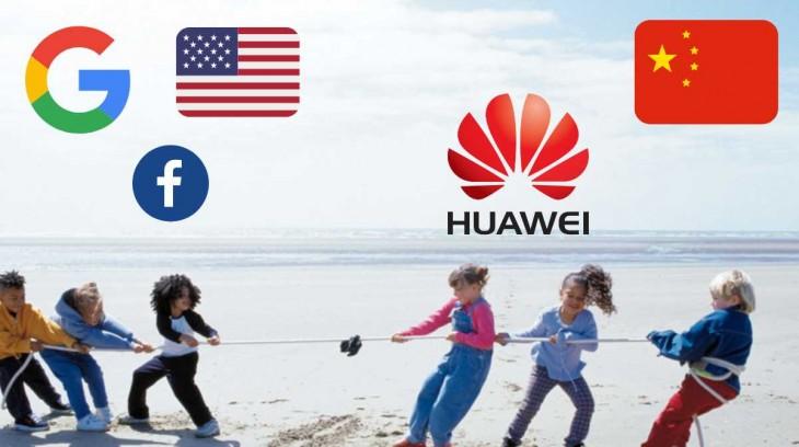 huawei google facebook