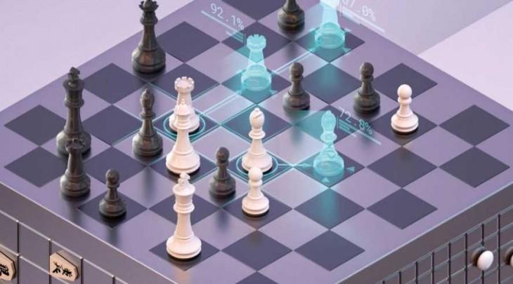 Deepmind jugando al ajedrez