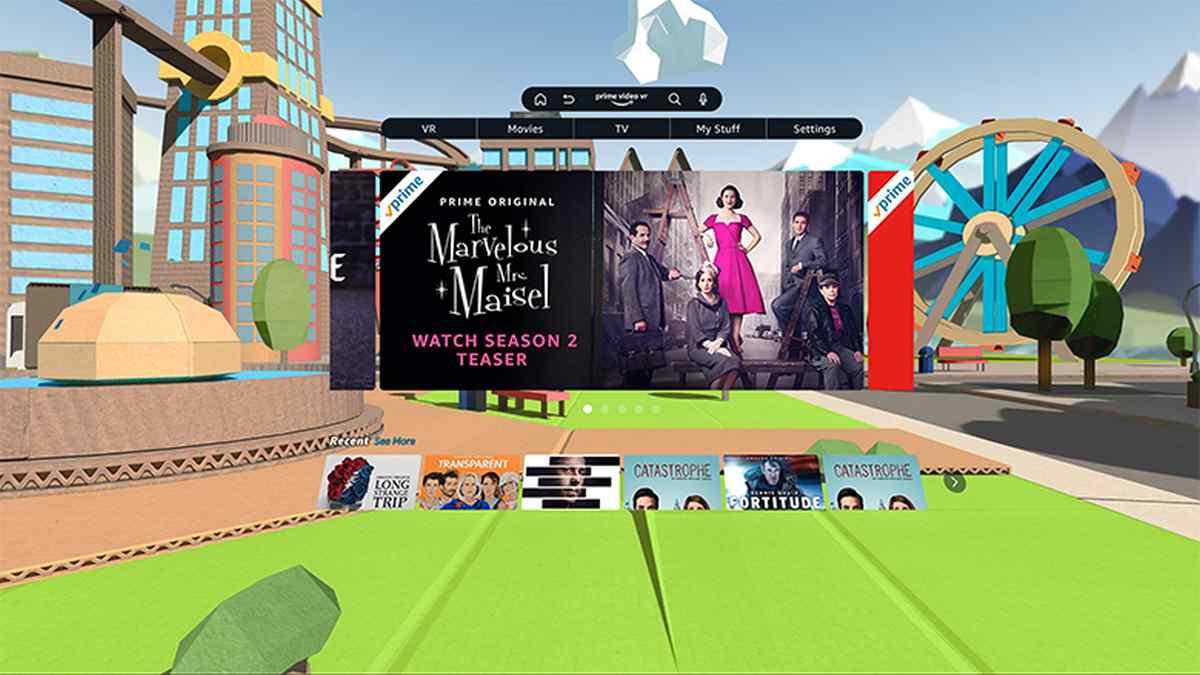 Amazon lanza aplicación de Prime Vídeo para cascos de Realidad Virtual de Oculus