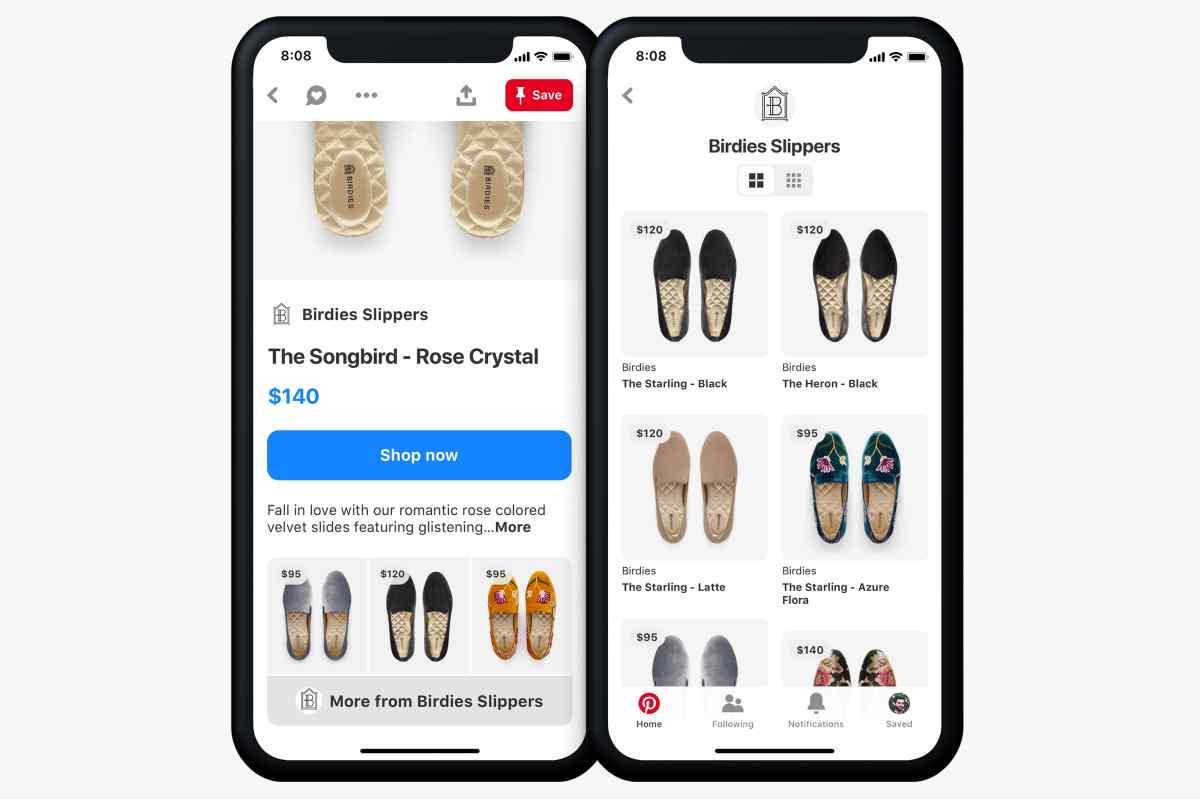 Pinterest agrega dos nuevas funciones para facilitar las compras de productos