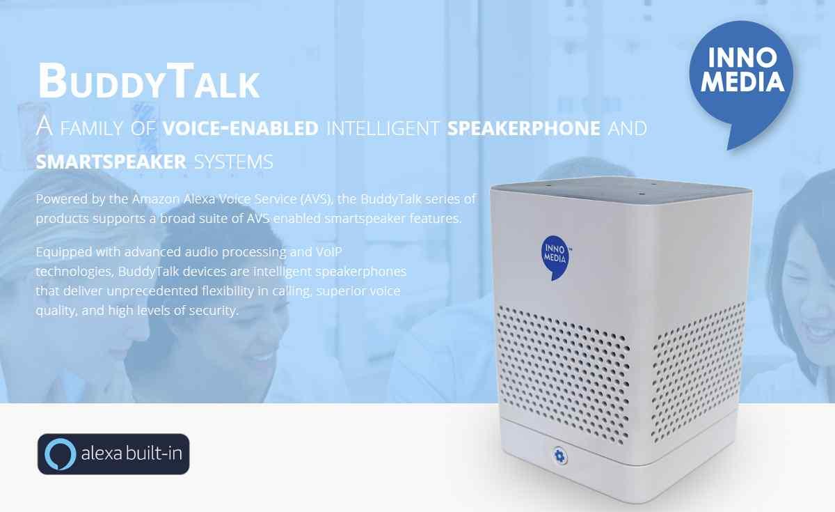 Presentan la familia de altavoces inteligentes BuddyTalk: para residentes, pymes y empresas