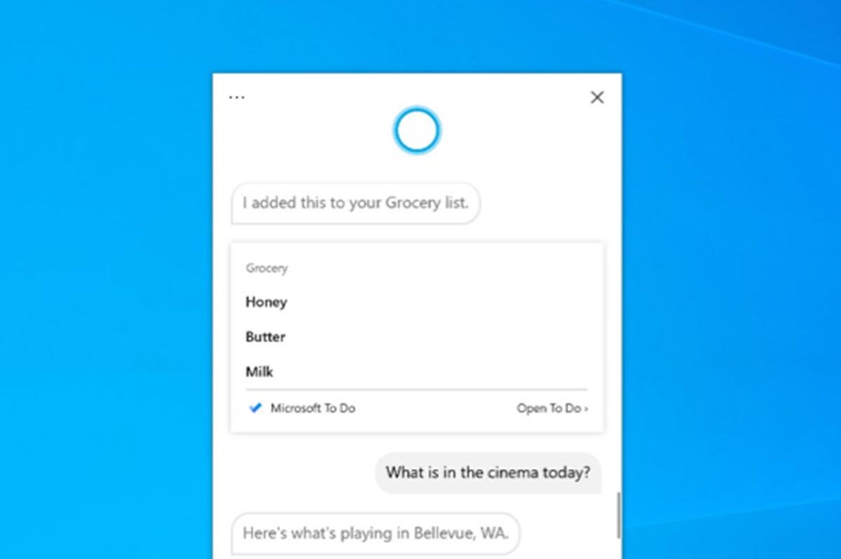 Así es la nueva app de Cortana para Windows 10