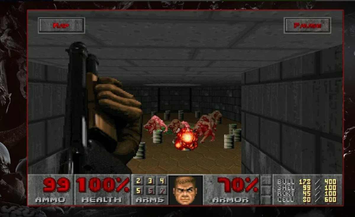 El clásico juego DOOM ya está disponible para iPhone y Android
