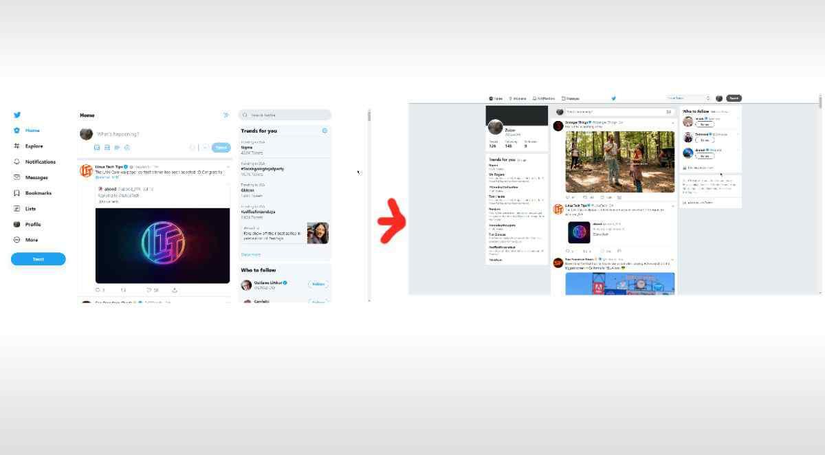 Esta extensión te permitirá volver al antiguo diseño de Twitter en Chrome y Firefox