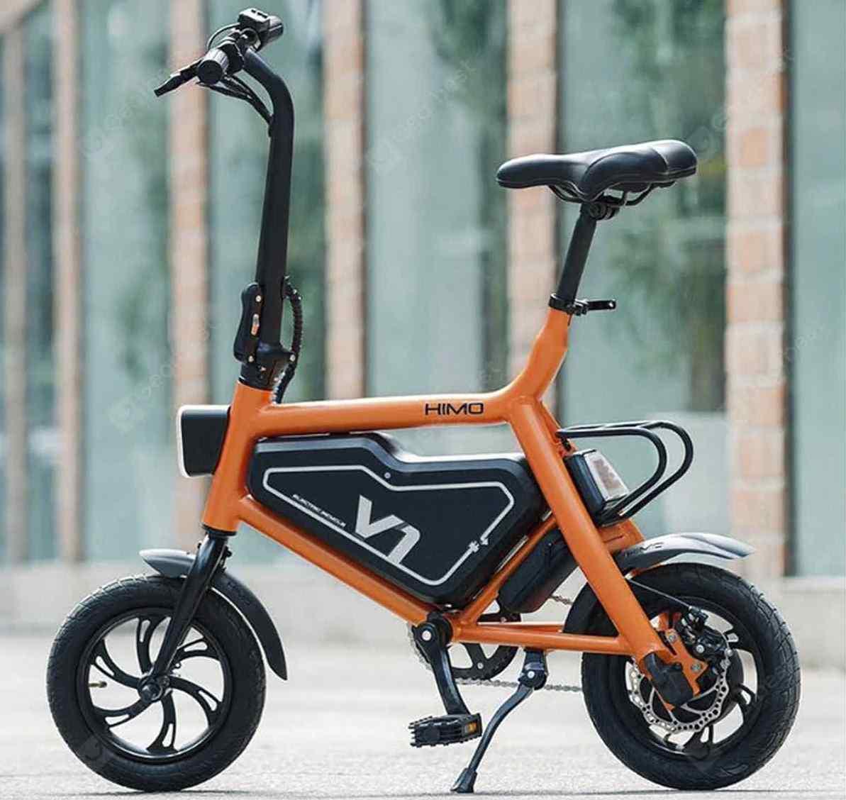 Así es Himo V1, una bicicleta eléctrica para las rutas urbanas