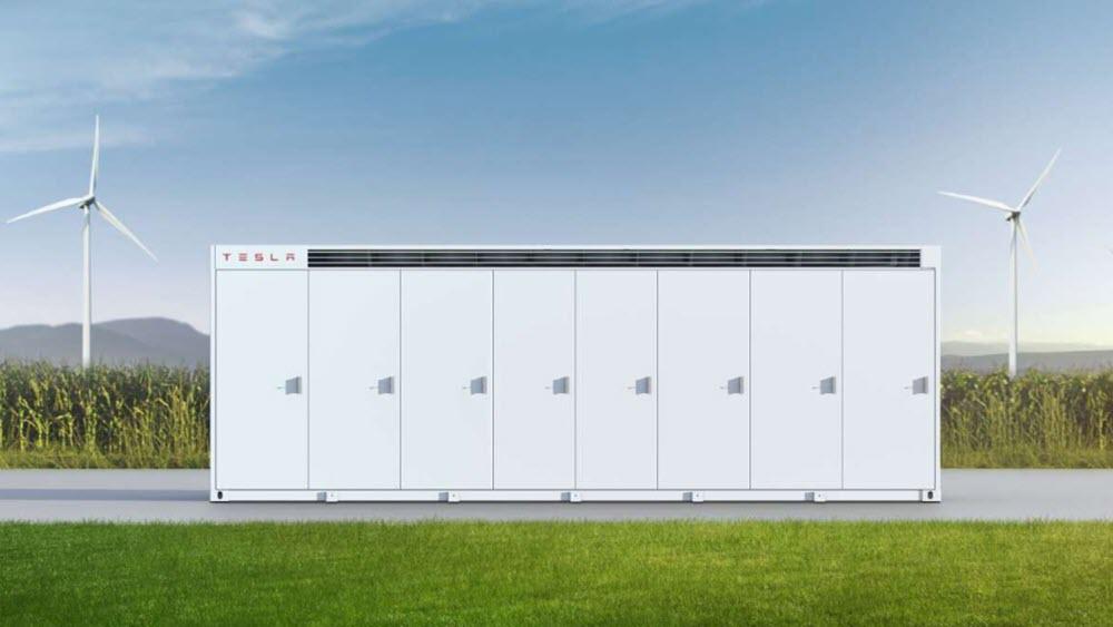 Megapack, la enorme batería de Testa con 3 MWh de capacidad