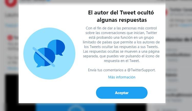 Twitter funcion nueva