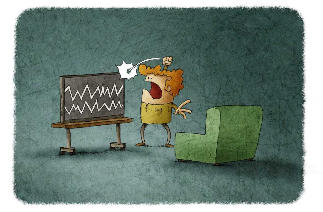 televisión sin señal