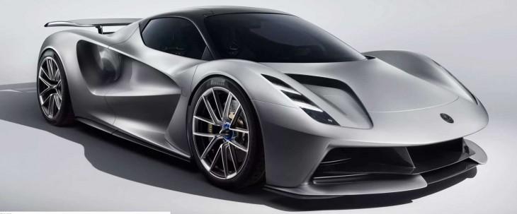 Lotus presenta su coche eléctrico de 1,5 millones de euros