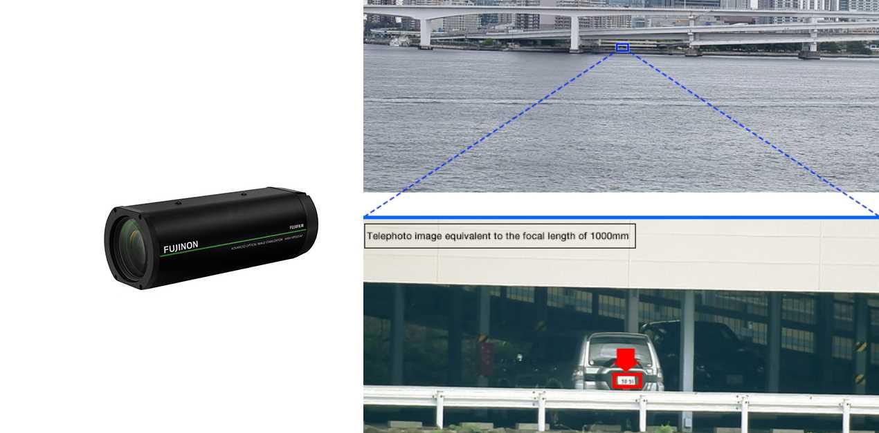 Fujifilm presenta cámara que puede leer matrículas a 1 km de distancia