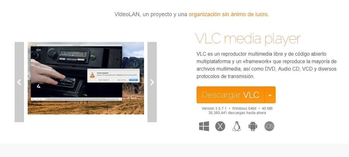 Qué no puedes hacer con VLC ahora que tiene problemas de seguridad