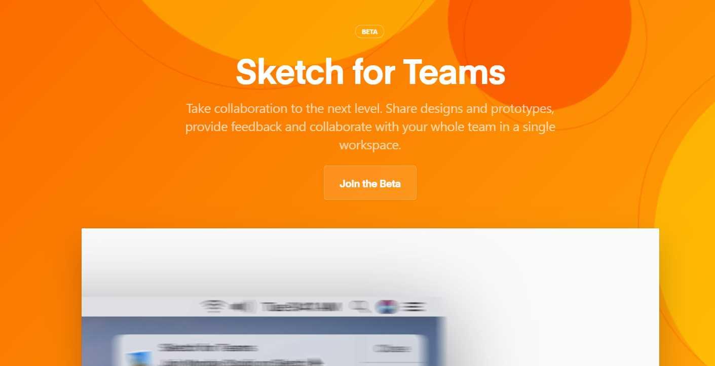 Sketch presenta su opción de colaboración entre equipos