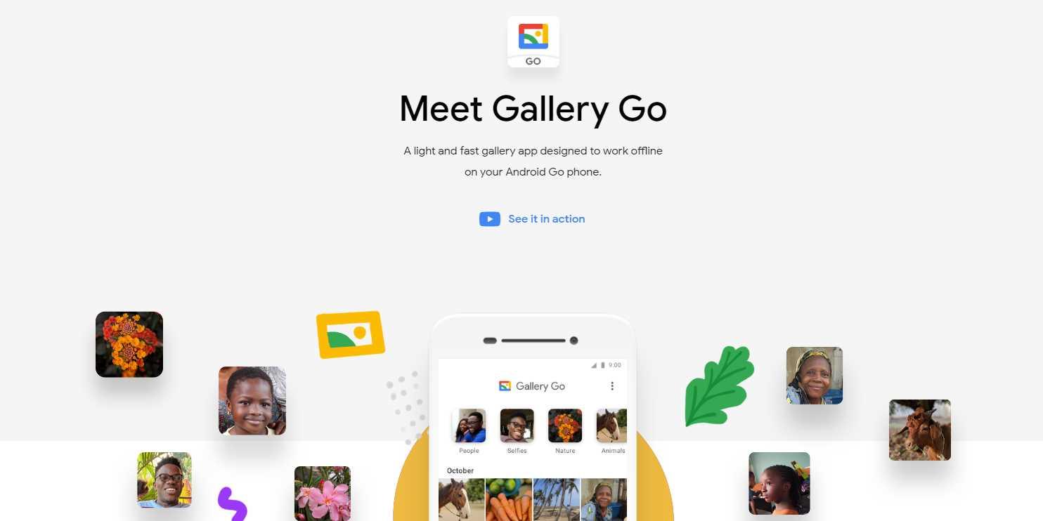 Google presenta Gallery Go, una app de Galería que funciona offline