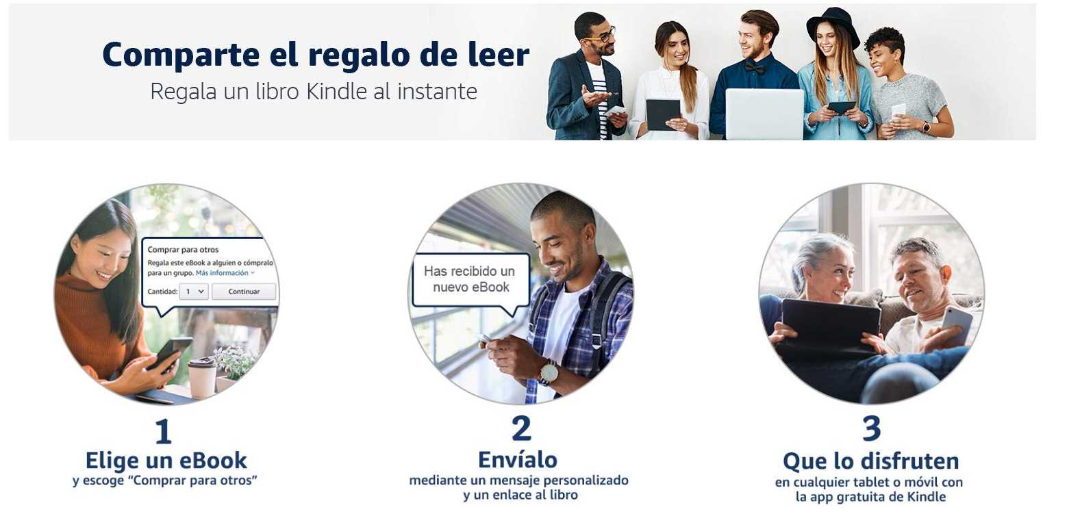 regalar kindle