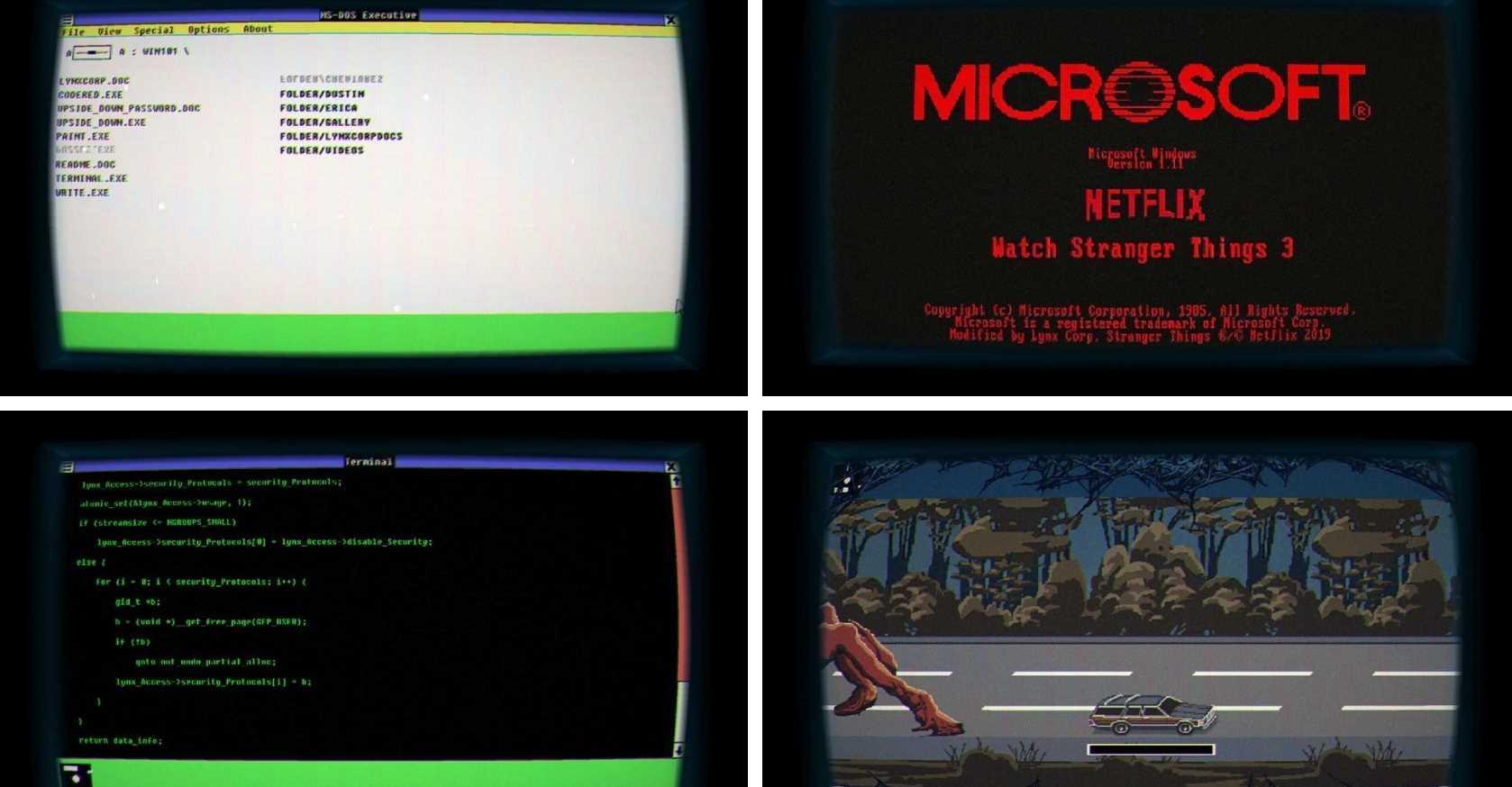 Algunas capturas de pantalla de Windows 1.11