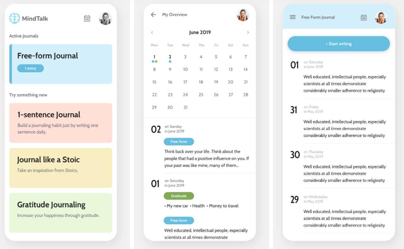 MindTalk, un diario que usa blockchain para respetar nuestra privacidad