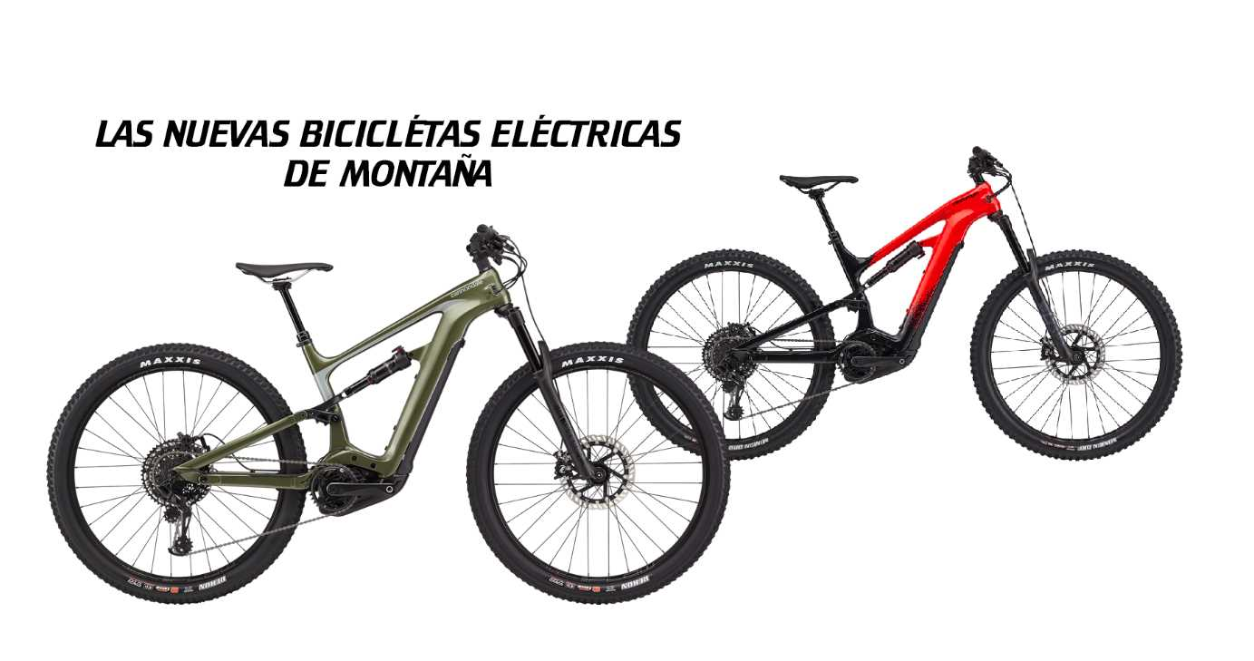 Cannondale presenta sus nuevas bicicletas eléctricas de montaña