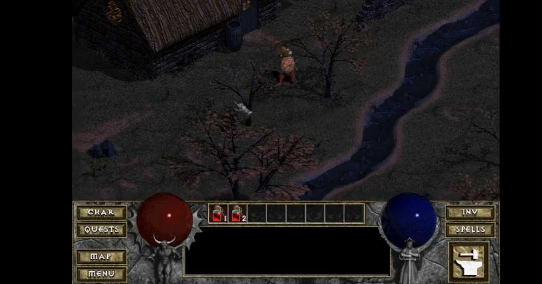 Es posible jugar a una versión retro de Diablo en el navegador, de forma gratuita