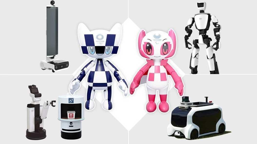 Los robots que Toyota llevará a los Juegos Olímpicos