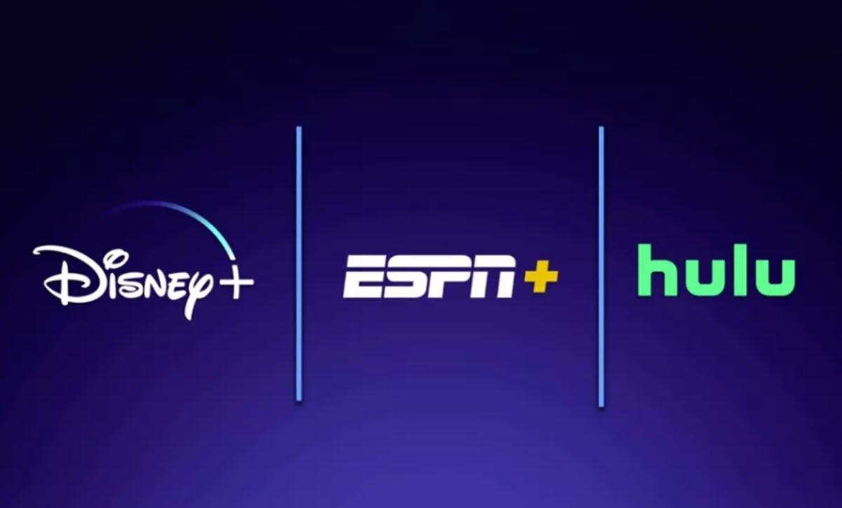 Disney incluirá Disney+, ESPN+ y Hulu en una sola suscripción de 12,99 dólares