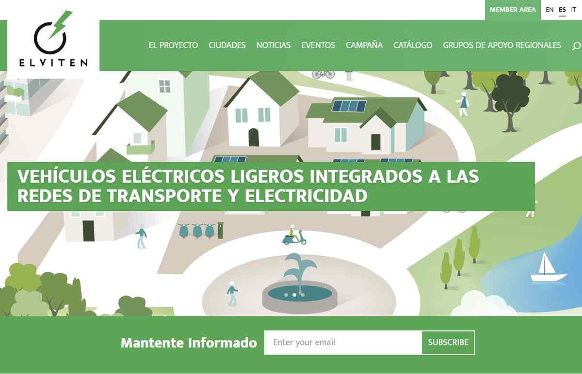 Llegan las bicicletas eléctricas del Proyecto Elviten, para el fomento del transporte eléctrico ligero, a Málaga