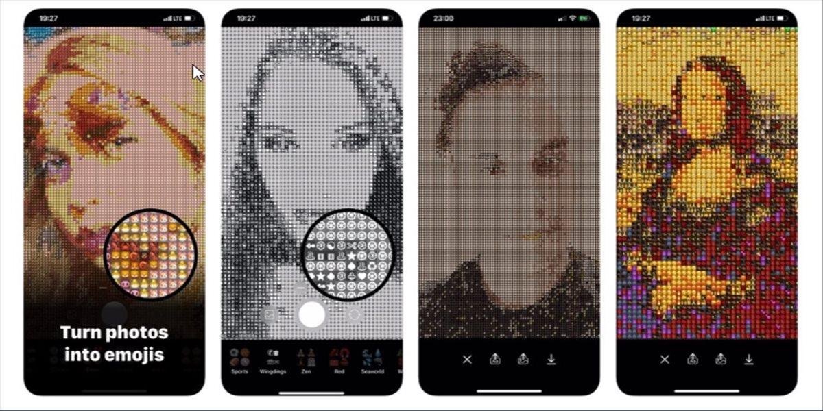 Convierte tus imágenes en un mosaico de emojis con esta interesante app para iPhone