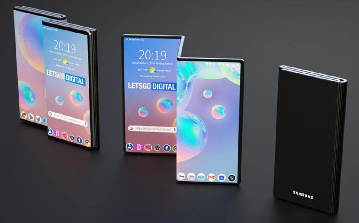 Samsung tiene un nuevo concepto para su móvil plegable