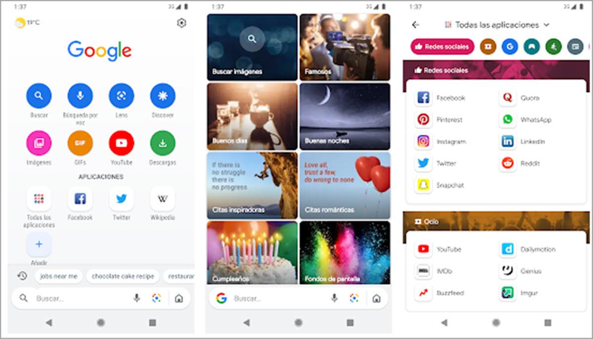 Google Go, la versión ligera del buscador, ya disponible para todos