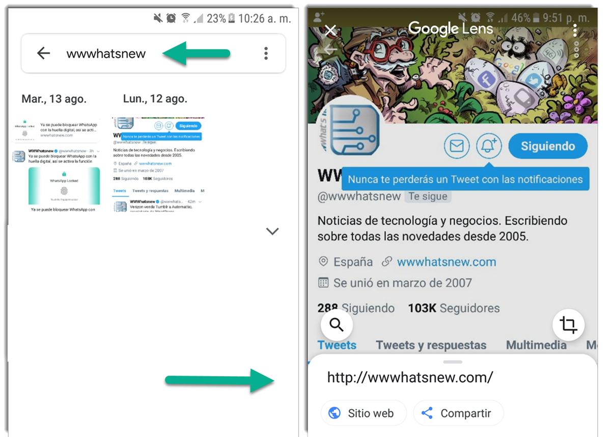 Google Fotos ahora busca texto en imágenes