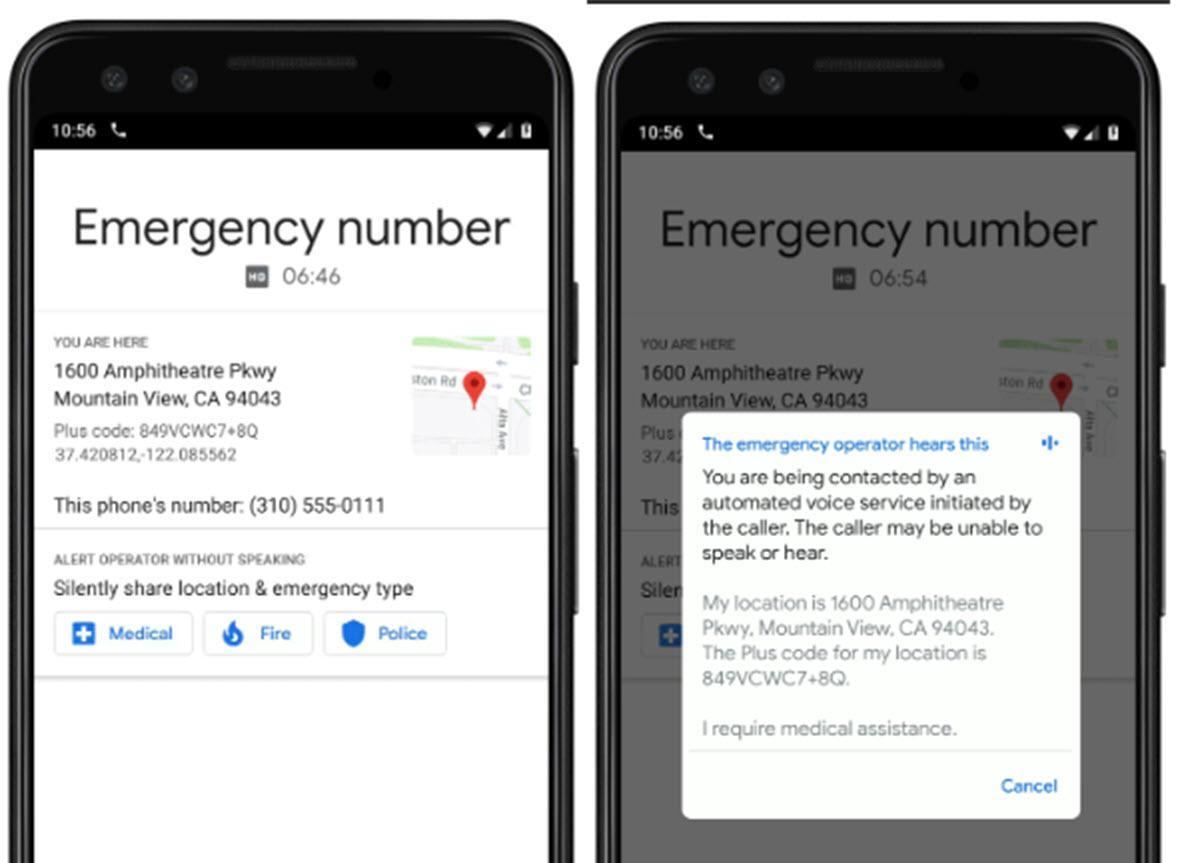 Google implementará una función SOS en Android para pedir asistencia sin hablar