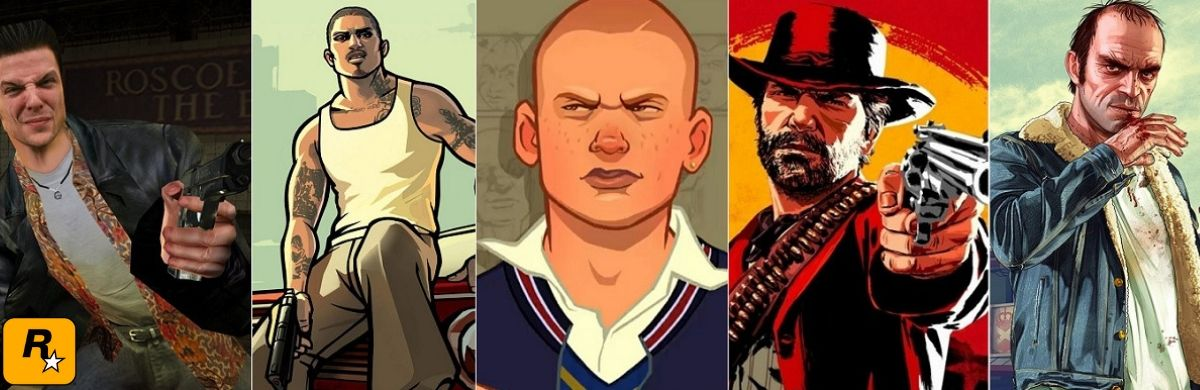 Los 5 mejores juegos creados por Rockstar Games