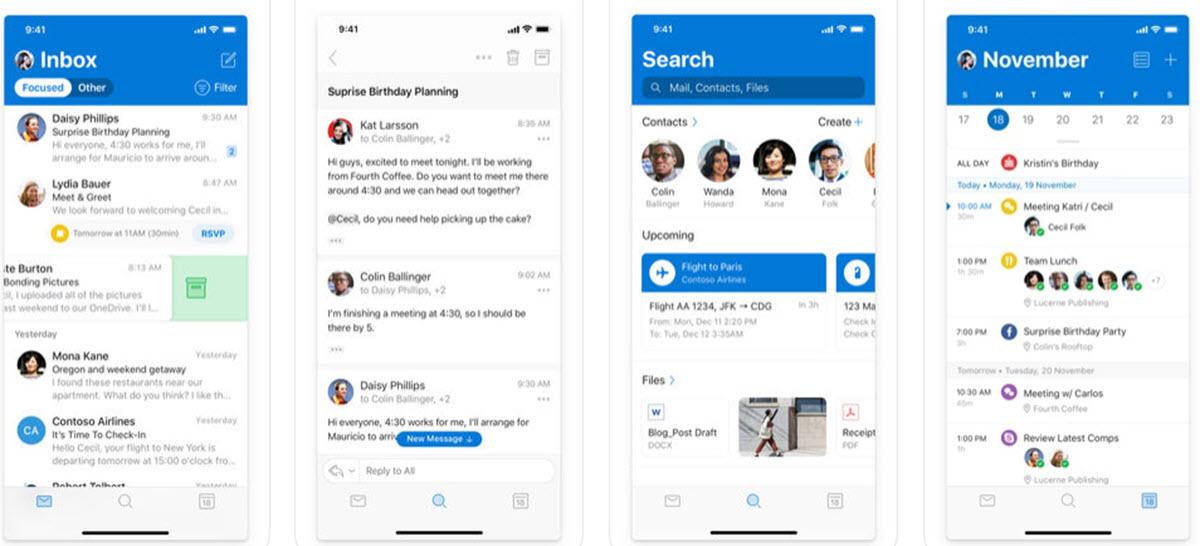Microsoft Outlook mejora la consulta y gestión de eventos en iOS