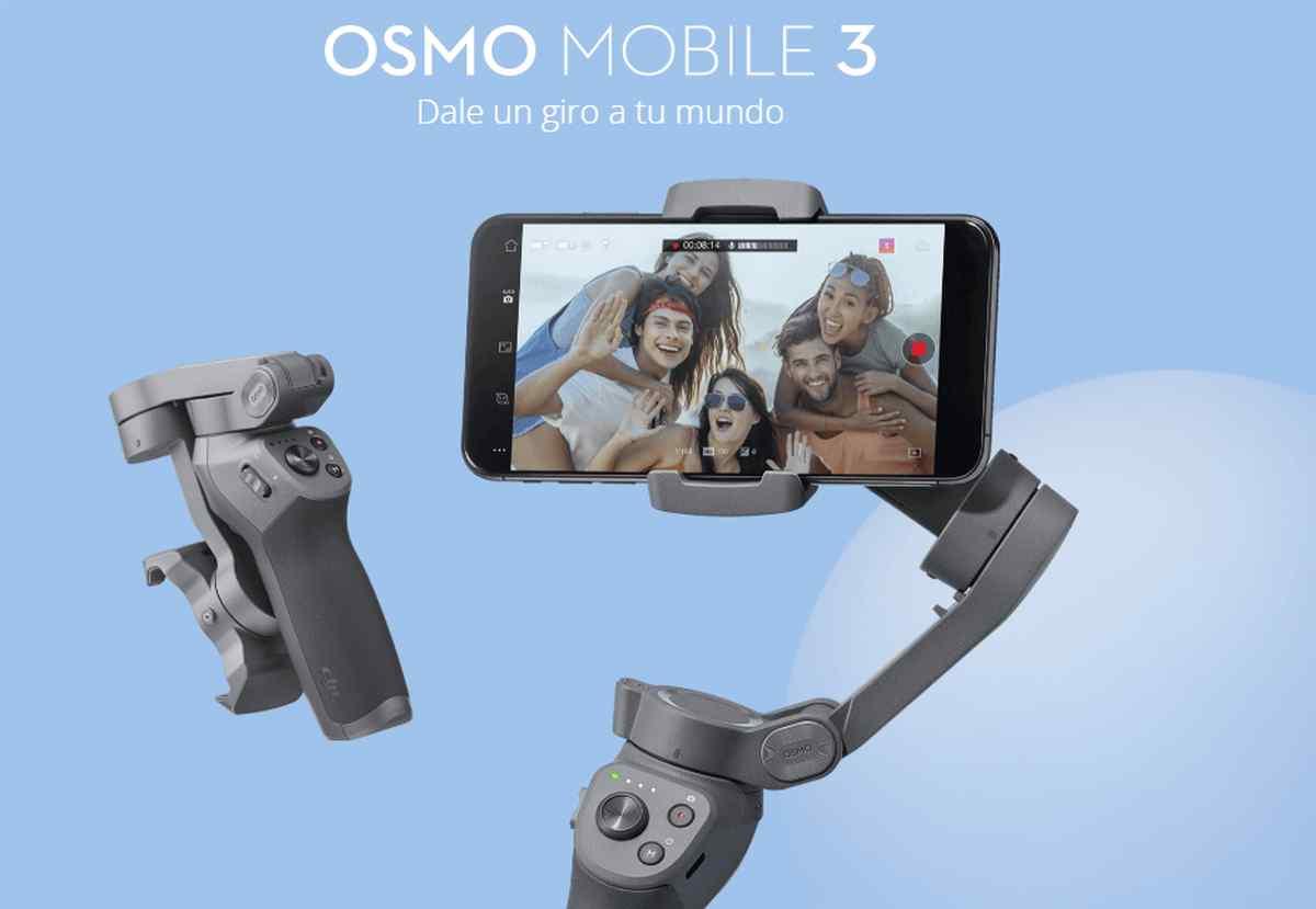 Así es DJI Osmo Mobile 3, el nuevo estabilizador de imagen de DJI para teléfonos móviles