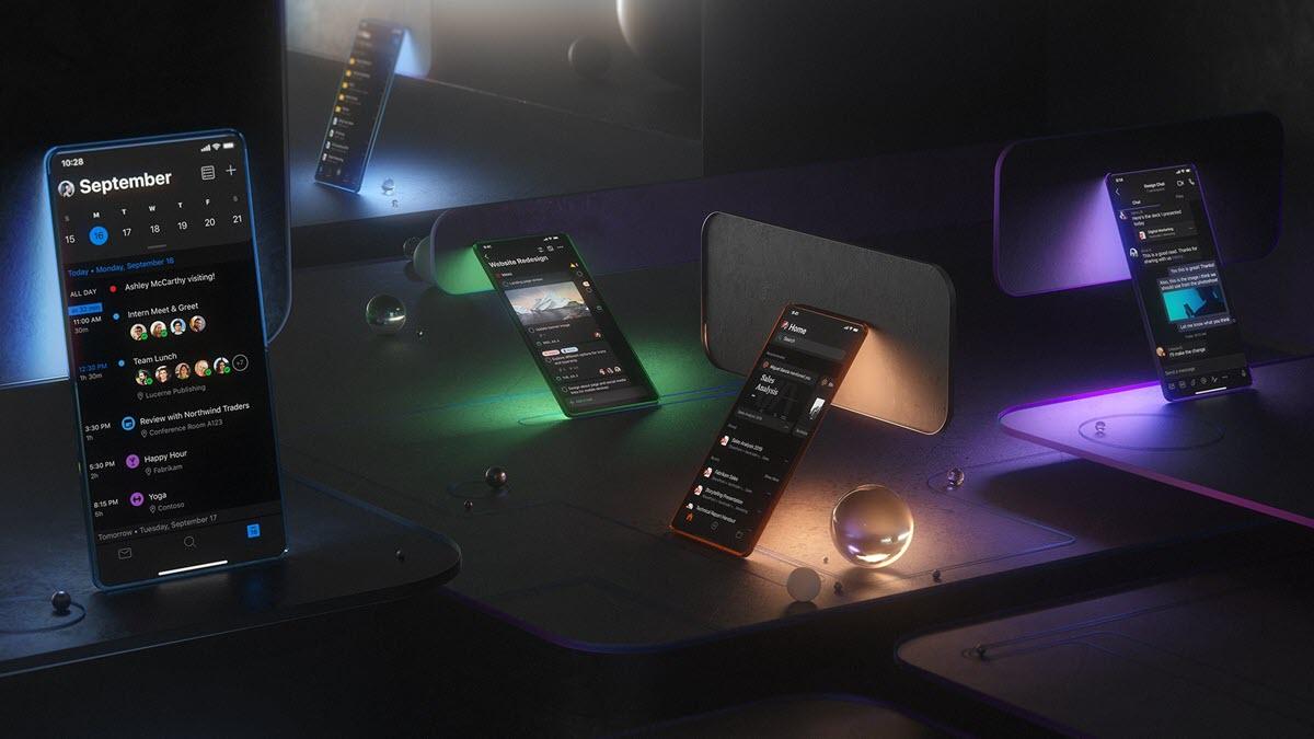 Microsoft Outlook estrena modo oscuro en iOS y Android