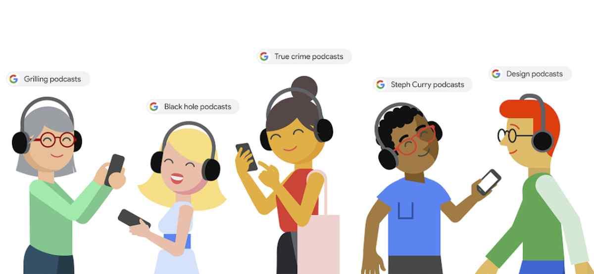 Google trae las búsquedas y escuchas de podcasts directamente a su buscador