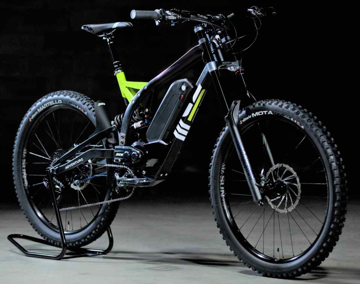 SEM Adventure, una interesante bicicleta eléctrica para las aventuras de montaña