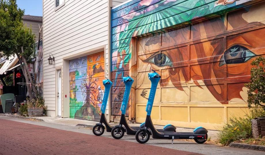Skip, empresa que permite compartir scooters, lanza un patinete eléctrico personalizado