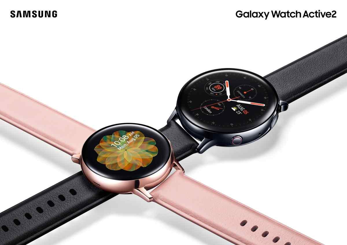 Así es el nuevo Galaxy Watch Active2 de Samsung, para rivalizar con el Apple Watch