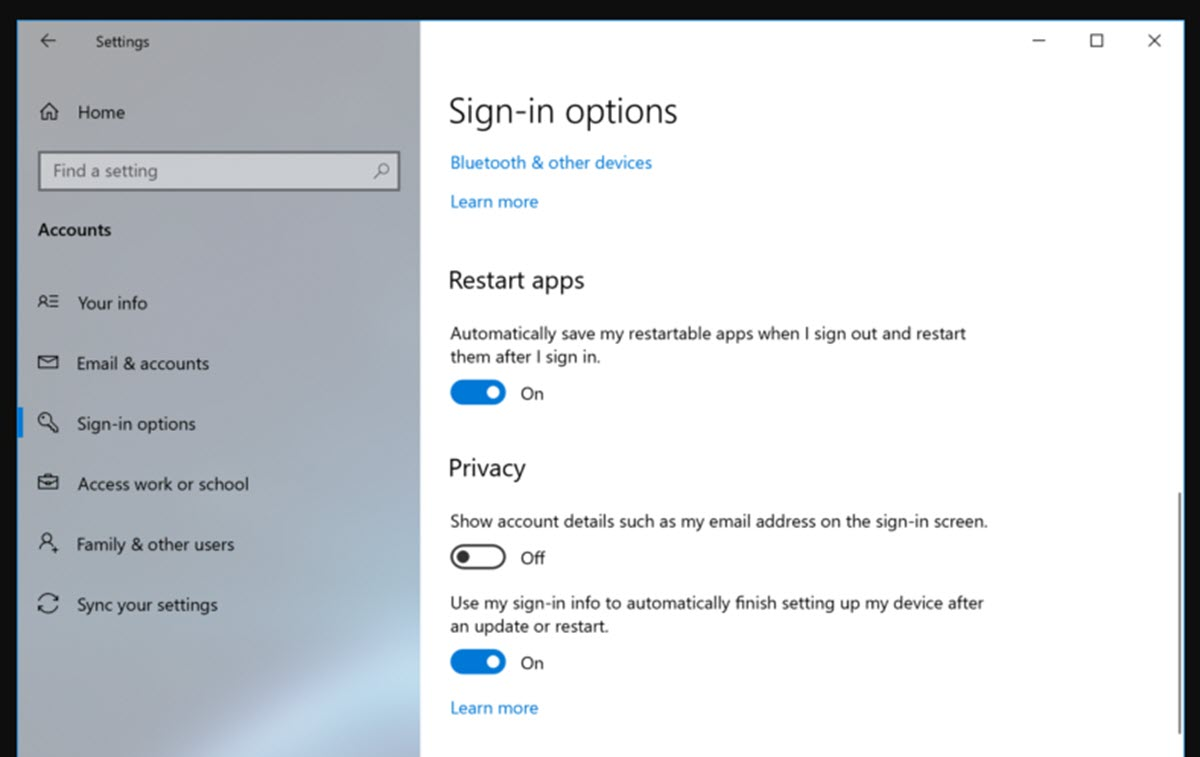 Windows 10 tendrá nueva configuración para reiniciar el equipo