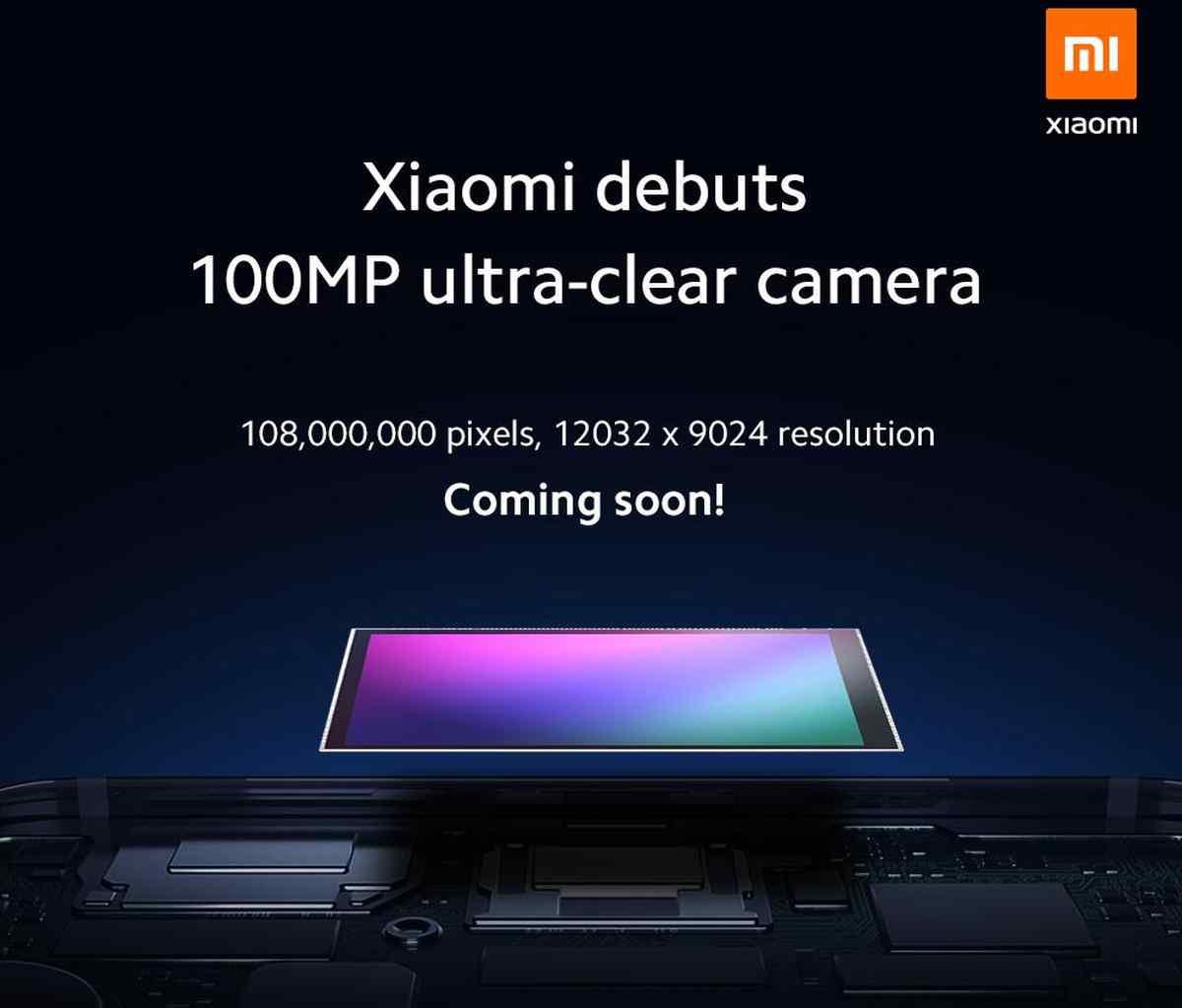 Xiaomi quiere lanzar un teléfono con cámara de 108MP