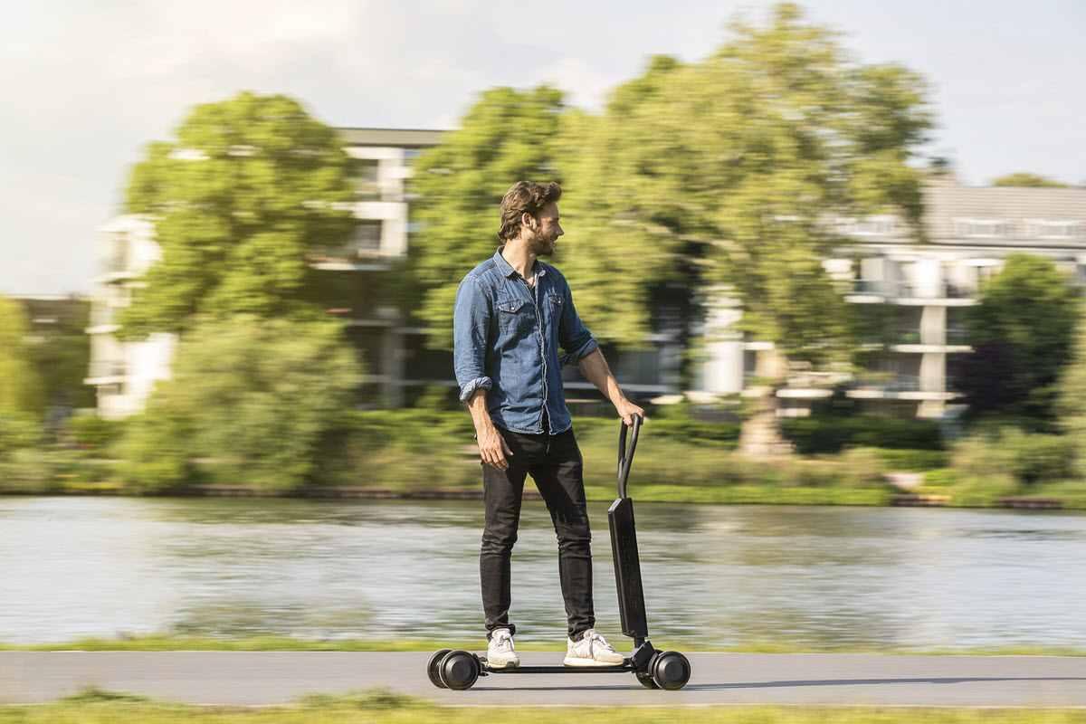 Así es el primer patinete eléctrico de Audi