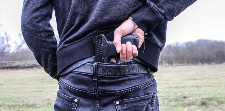 arma escondida