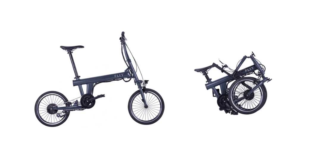 FLIT-16, la bicicleta eléctrica plegable que triunfa en kickstarter