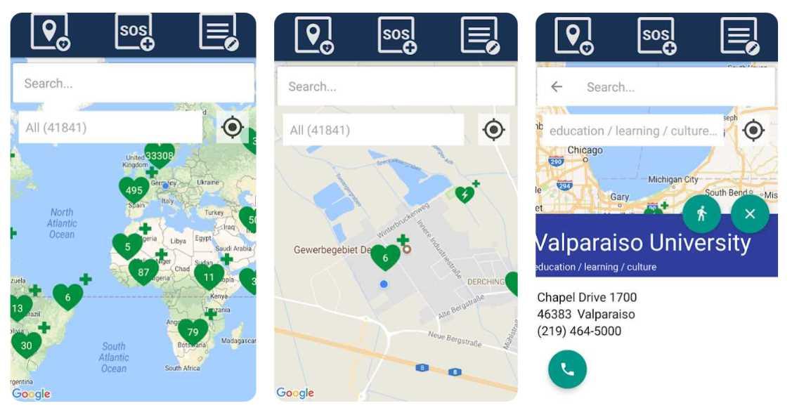 Una app para saber dónde está el desfibrilador DEA más cercano