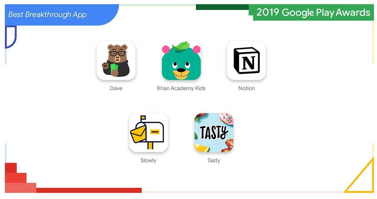 Las apps android con mejor diseño de 2019, según Google