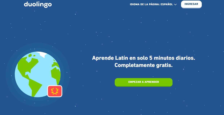 Ya podemos practicar latín con Duolingo