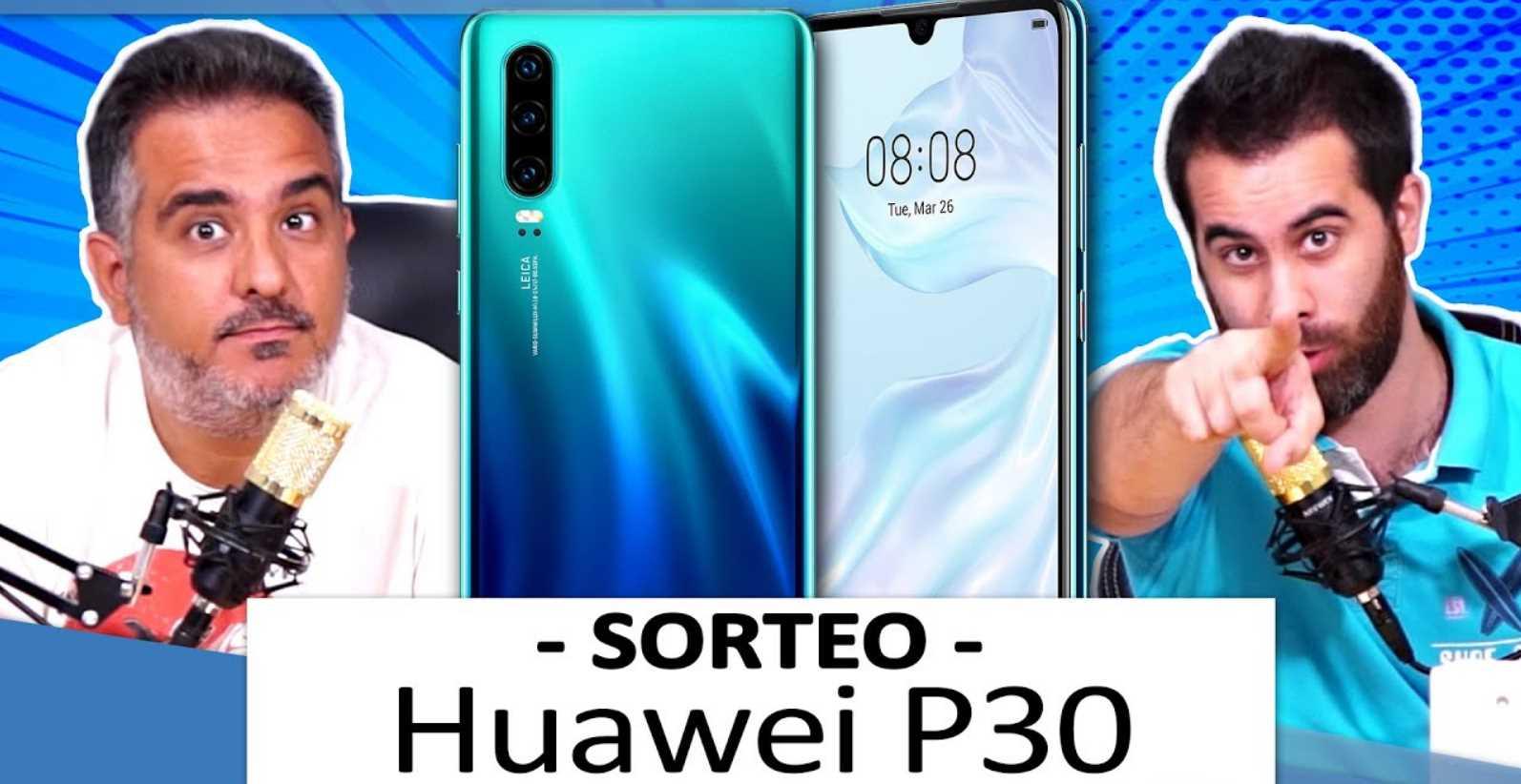 ¡Sorteamos un Huawei P30!