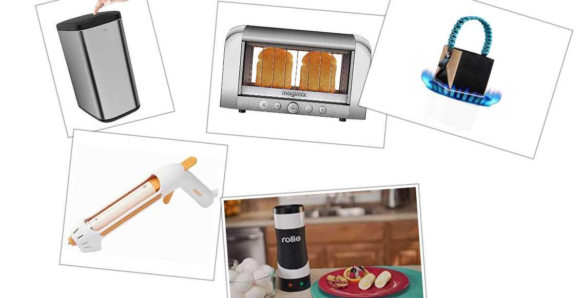 5 de los utensilios tecnológicos para la cocina más extraños del mercado